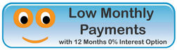 Monthly Payment Options Through Shopping Cart Finance Program Button