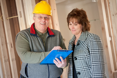 Home Improvement Finance Program Contractor With Customer